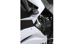 Tampon de protection R&G RACING Aero noir Kawasaki ZX-6R/ZX636-R