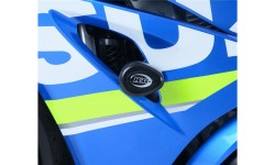 Tampons de protection R&G RACING Aero noir Suzuki GSX-R1000 17/18