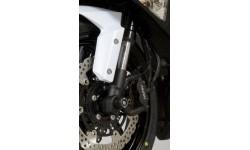 Protection de fourche R&G RACING noir Kawasaki ZX6R/ZX636-R