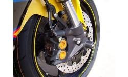 Protection de fourche R&G RACING noir Yamaha YZF-R6 05/16