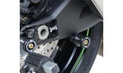 Pions de bras oscillant R&G RACING noir Kawasaki ZX-10R 16/18