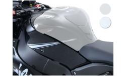 Kit grip de réservoir R&G RACING translucide (4 pièces) Kawasaki ZX10R