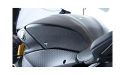 Kit grip de réservoir R&G RACING 2 pièces noir Yamaha R6