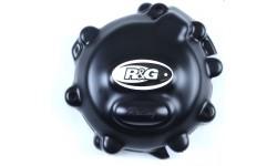 Couvre carter R&G RACING Race Series gauche (alternateur) noir Kawasaki ZX10R 11/18