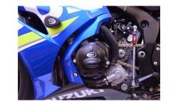 Couvre-carter gauche R&G RACING Race Series noir Suzuki GSX-R1000 17/18