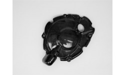 Couvre carter embrayage LIGHTECH carbone brillant Yamaha Yzf-R1