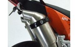 Protection de silencieux ovale R&G RACING noir
