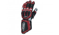 Gants RST Tractech Evo CE cuir ROUGE