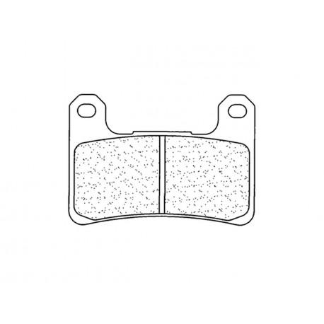 Plaquettes de frein CL BRAKES 1133C60 métal fritté ZX10R 11/15
