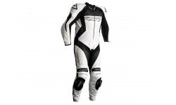 Combinaison RST Tractech EVO 4 CE cuir blanc homme