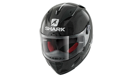 Casque SHARK RACE-R PRO CARBON SKIN Carbon White Black