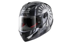 Casque SHARK RACE-R PRO CARBON ZARCO GP FRANCE 2019 Carbon Chrome Anthracite