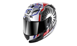 Casque SHARK RACE-R PRO CARBON ZARCO GP FRANCE 2019 Carbon Chrom Red
