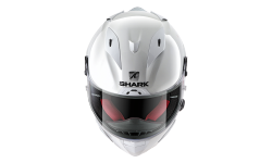Casque SHARK RACE-R PRO BLANK White azur