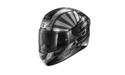 Casque SHARK D-SKWAL 2 ZARCO 2019 Mat Anthracite Silver Anthracite