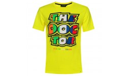 Tee classic stripes yellow VR46