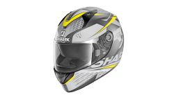 Casque Shark RIDILL 1.2 STRATOM MAT Anthracite Anthracite Yellow