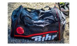 Sac de voyage BIHR grand volume 128L - 80 X 40 X 40 cm Noir/Rouge