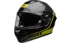 Casque BELL Race Star Flex DLX Velocity Matte/Gloss Black/Hi Viz