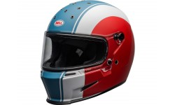 Casque BELL Eliminator Slayer Matte White/Red/Blue