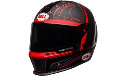 Casque BELL Eliminator Hart Luck Matte/Gloss Black/Red/White