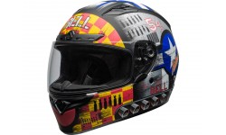 Casque BELL Qualifier DLX Mips Devil May Care Matte Grey