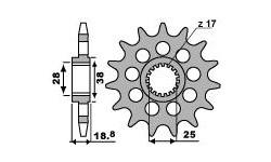 Aprilia RSVR4 2010/2018 Pignon PBR acier Racing pas 520 type 2194