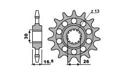 Honda CBR600RR 2003/20018 Pignon PBR acier Racing pas 520 type 347M