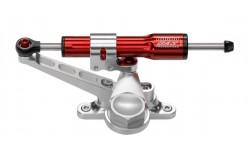 Kit amortisseur de direction BITUBO rouge position au-dessus du réservoir Ducati 848
